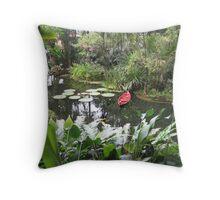 Tropical Spice Garden, Penang, Malaysia Throw Pillow