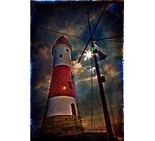 Passing the Lighthouse Photographic Print
