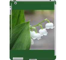 Lily-of-the-valley by the Sidewalk iPad Case/Skin