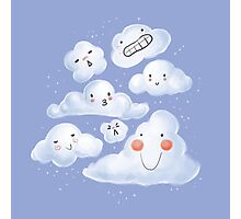 Cloud Family Photographic Print