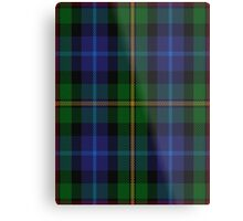 00002  Smith Tartan  Metal Print