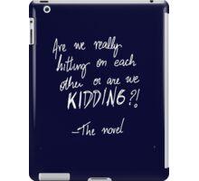 The novel iPad Case/Skin