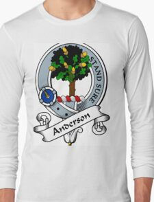 00005 Anderson Clan/Family Tartan  Long Sleeve T-Shirt