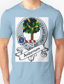 00005 Anderson Clan/Family Tartan  Unisex T-Shirt
