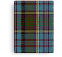 00005 Anderson Clan/Family Tartan  Canvas Print