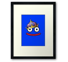 DragonQuest King Slime Framed Print