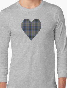 00006 Thom(p)son Dress Blue Tartan Long Sleeve T-Shirt