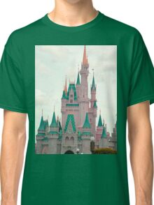 Pink & Teal Castle Classic T-Shirt