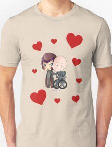 Mutant and Proud: Magneto and Professor Xavier Chibis by Klockworkkat T-Shirt