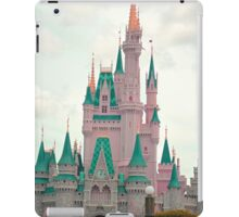 Pink & Teal Castle iPad Case/Skin