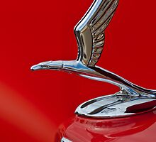 "1933 Chevrolet Coupe ""Eagle"" Hood Ornament by Jill Reger"