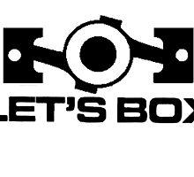 Lets Box - Subaru Boxer engine (White) by harrison44