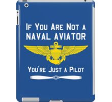 Naval Aviator iPad Case/Skin
