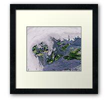 """Flood""  Framed Print"