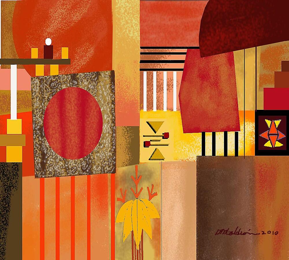 """Orange-Yellow""   by Patrice Baldwin"