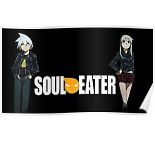 Soul Eater - Soul and Maka Poster