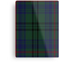 00010 Walker Hunting Clan/Family Tartan  Metal Print