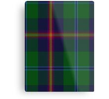 00011 Young Clan Tartan  Metal Print