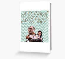 Labyrinth - Sarah and Hoggle Hearts Greeting Card