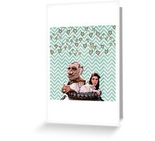 Labyrinth - Sarah and Hoggle Hearts Greeting Card