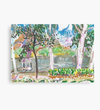 Rossiter Park Pontoon Canvas Print