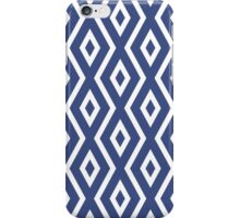 Blue Diamond Pattern iPhone Case/Skin