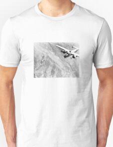B-25 Bomber Over Germany Unisex T-Shirt