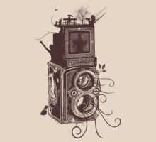 Retro Rolleiflex - Evolution of Photography - Vintage #2 by ddtk