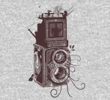 Retro Rolleiflex - Evolution of Photography - Vintage #2 Kids Clothes