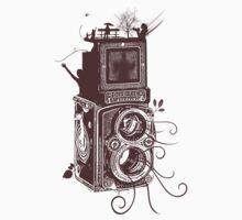 Retro Rolleiflex - Evolution of Photography - Vintage #2 Kids Clothes