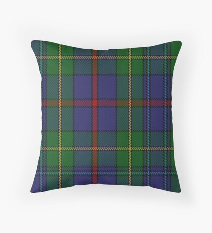 00017 The House of Bailey Clan Tartan  Throw Pillow