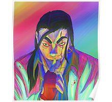 Hotline Miami - The Son neon Poster