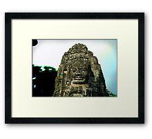 """CAMBODIA"" Framed Print"