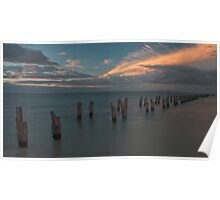 Clifton Springs Sunset Poster