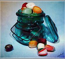 Ribbon Candy by Mattie Bryant