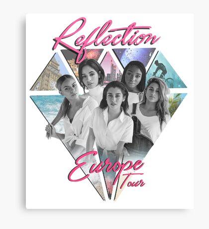 Fifth Harmony // Reflection European Tour Canvas Print
