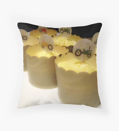 Edible Art Throw Pillow