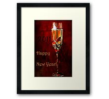 """""""Happy New Year to You ! ..."""" Framed Print"""