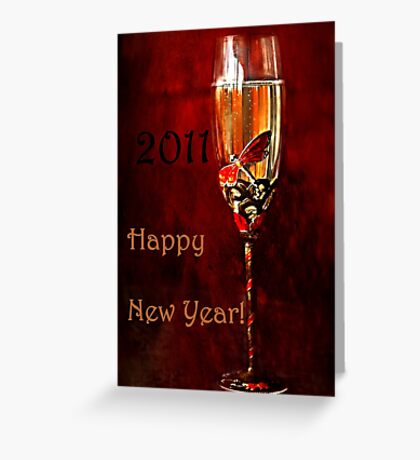"""""""Happy New Year to You ! ..."""" Greeting Card"""