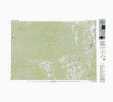 USGS Topo Map Oregon Cottage Grove 283069 1979 100000 Kids Tee