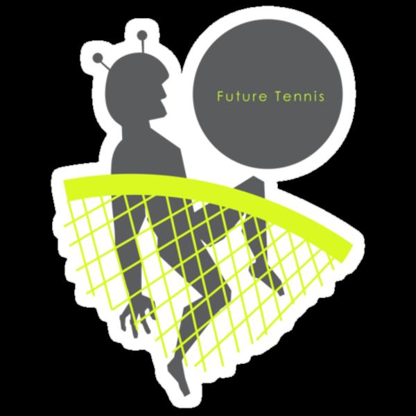 Future Tennis by Nick Graalman