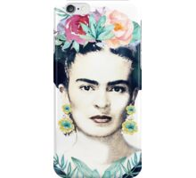 Watercolor Frida Kahlo  iPhone Case/Skin