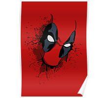Deadpool Mask Poster