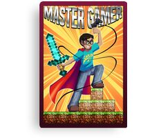 Master Gamer Canvas Print