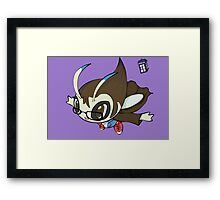 Dr. Who-Celebi  Framed Print