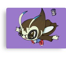 Dr. Who-Celebi  Canvas Print