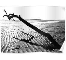 Monochrome Seascape Poster