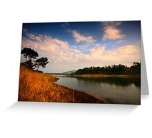 Late afternoon by Umiam Greeting Card