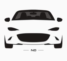 ND simplistic front end design Baby Tee