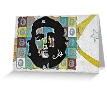 Everywhere a Che, Che  Greeting Card